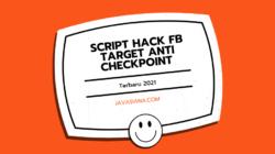 Script Hack FB Target Anti Checkpoint Terbaru 2021