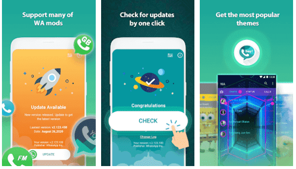Cara Memperbarui WhatsApp Aero