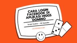 Cara Login Facebook di Aplikasi Higgs Domino