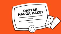 Daftar Harga Paket K Vision