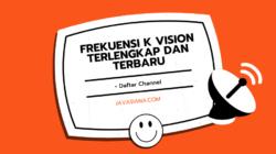 Frekuensi K Vision