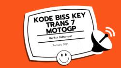 Kode Biss Key Trans 7