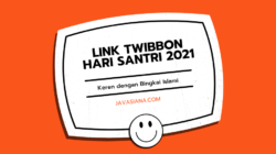 Link Twibbon Hari Santri 2021
