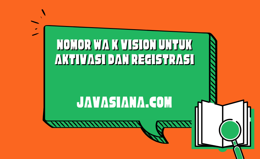 Nomor WA K Vision